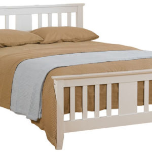 Kestral White Bed Frame by Sweet Dreams