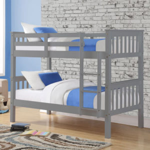 Casper Grey Bunk Bed by Sweet Dreams