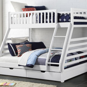 States White Triple Sleeper by Sweet Dreams